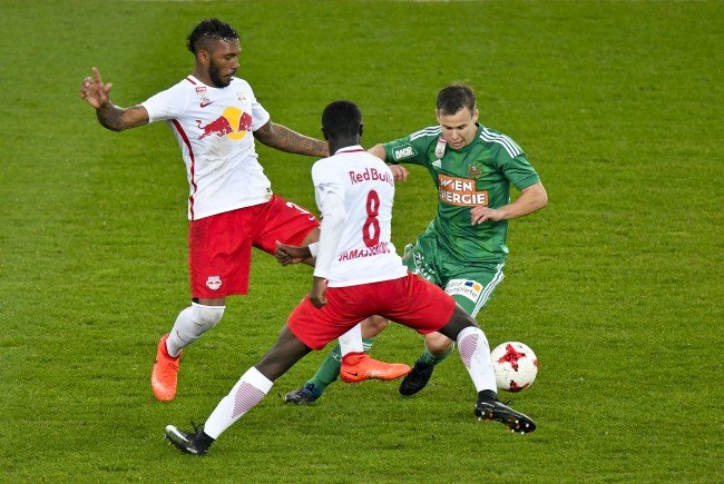 "Provokation mit ""Mission 33"": Red Bull Salzburg will gegen Rapid den Meistertitel holen."