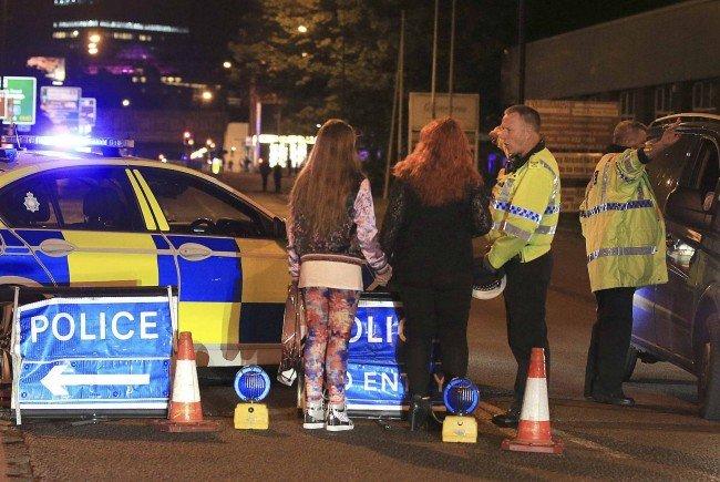 Dramatische Szenen in Manchester.