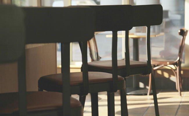 Das Cafe Industrie sperrt zu