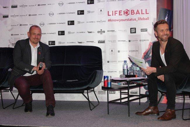 Bei der Pressekonferenz zum Life Ball 2017.