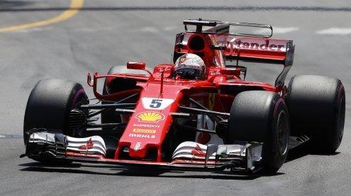 Sebastian Vettel entriss Kimi Räikkönen Ferrari-Sieg in Monaco