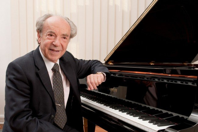 Paul Badura-Skoda spielt im Wiener Musikverein.