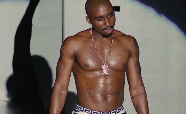 """Demetrius Shipp Jr. verkörpert Tupac in seiner """"nie erzählten Geschichte""""."""