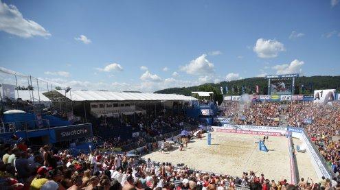 Alles zu den Tickets für die Beach-Volleyball-WM auf der Donauinsel