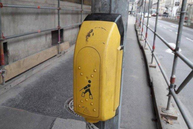 Akustisches Signal der Wiener Blindenampeln wird leiser