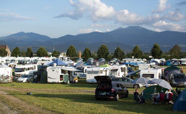Camping erfreut sich immer größerer Beliebtheit in Österreich.