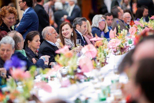 Gemeinsam speisen kann man bei Wienissimo 2017