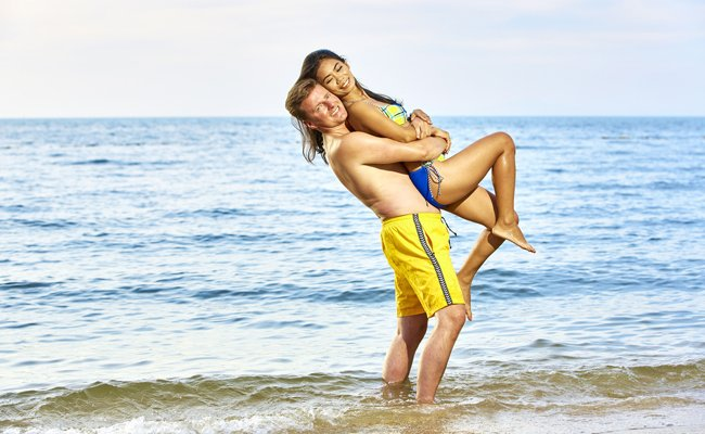 Strandurlaube sind bei Frischverheirateten nach wie vor sehr beliebt.