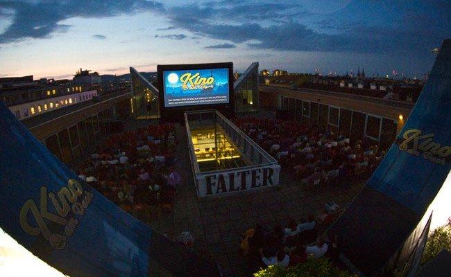 Das Kino am Dach hat auch 2017 zahlreiche filmische Highlights zu bieten