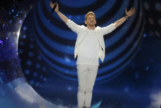 Nathan Trent ist im ESC-Finale in Kiew dabei!