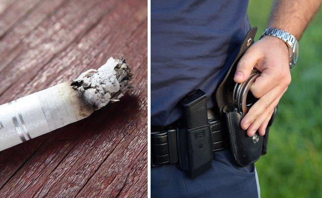 Zwei Beamte in Penzing verletzt: Mann wollte Zigarette im Gesicht eines Polizisten ausdrücken