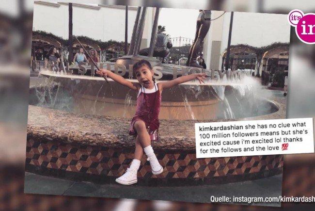 Kim Kardashian knackt magische Instagram-Marke