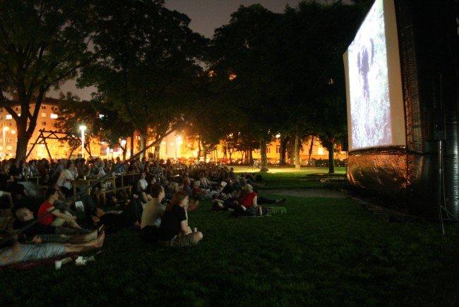 Die Margaretner Filmnächte finden auch heuer wieder im Bruno-Kreisky-Park statt