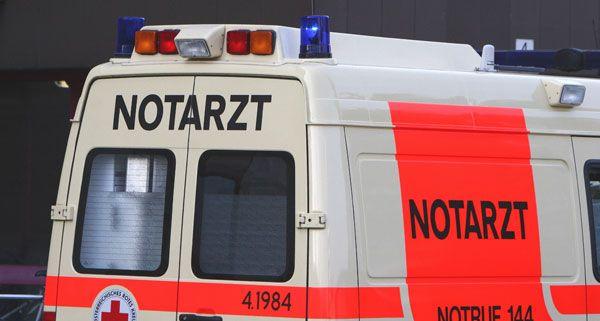 Die Radfahrerin wurde bei dem Sturz verletzt.
