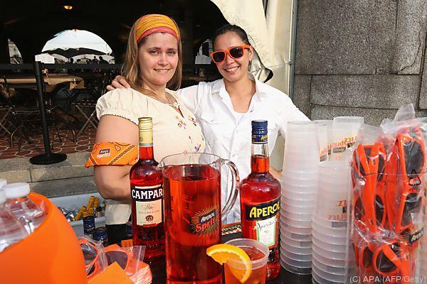 Niemand trinkt pro Kopf mehr Campari und Aperol als Österreicher