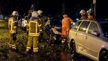 Schwere Unwetter über Deutschland: Zwei Tote