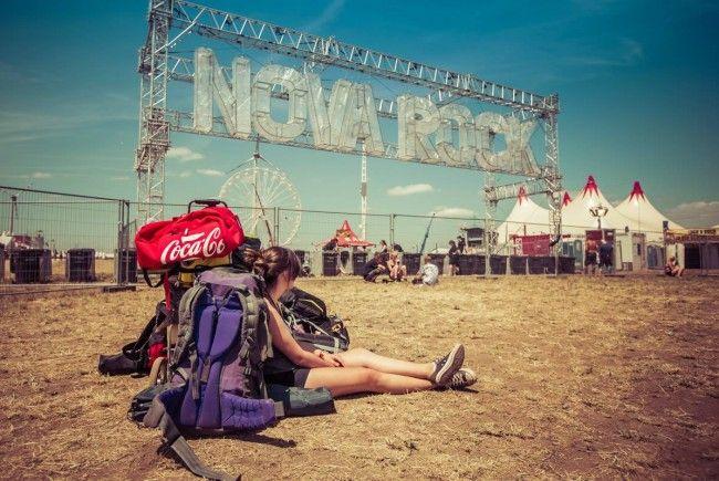 Bislang läuft alles recht entspannt am Nova Rock.