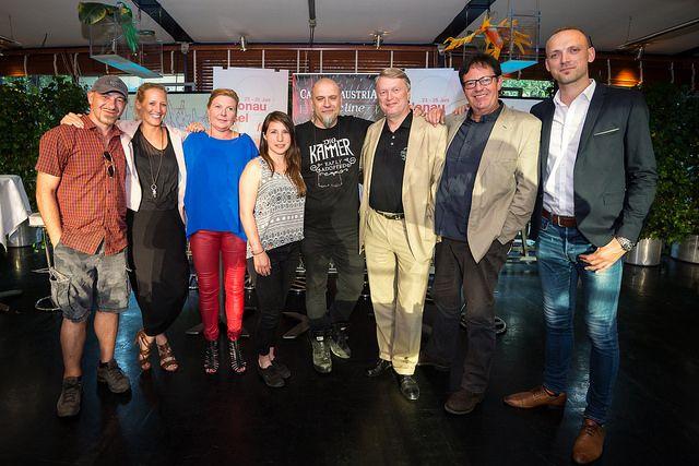 Die Casinos Austria luden zDie Casinos Austria und die DIF-Organisatoren luden zum Talk über Rock.um Talk über Rock.