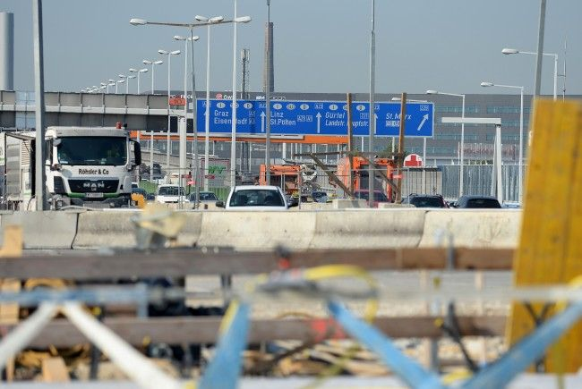 Auf der Tangente und der Ostautobahn warten Veränderungen auf die Autofahrer.