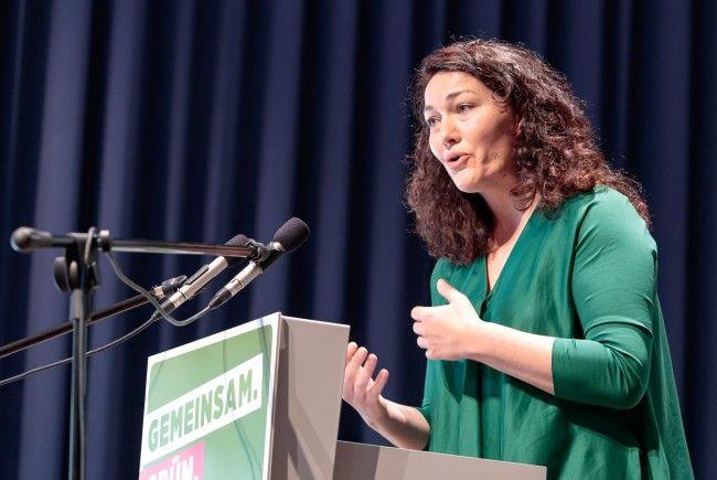Ingrid Felipe wurde am Sonntag zur Bundessprecherin der Grünen gewählt.