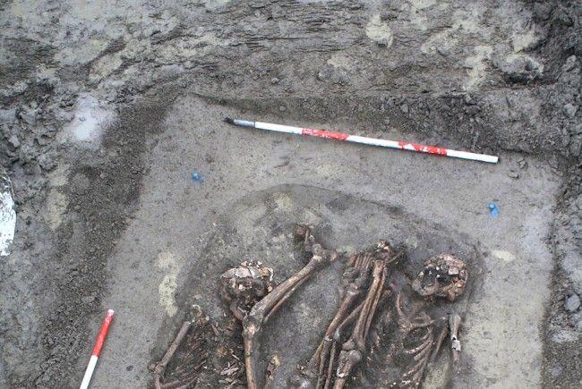 Die Wiener Stadt-Archäologie deckte Relikte der Schlacht bei Aspern auf.