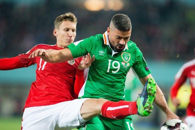 Jon Walters und seine irischen Kollegen treten mit viel Selbstvertrauen gegen Österreich an.