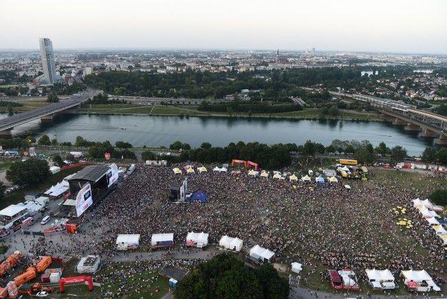 Bitte beachten Sie die Sicherheitshinweise für das Donauinselfest 2017.