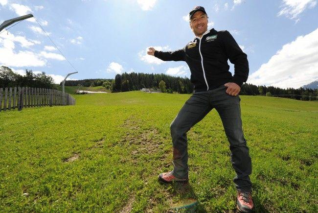 Der Ex-Skistar Hans Knauß errichtet ein neues Wohnhaus in Wien-Donaustadt.