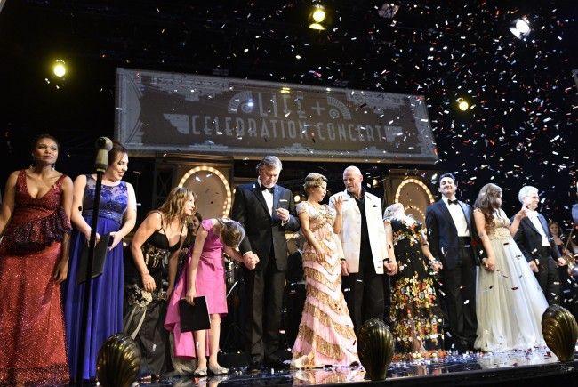 """Das """"Life+ Celebration Concert"""" fand am Dienstagabend im Burgtheater statt."""