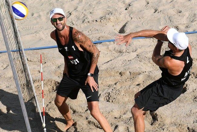 Porec und Gstaad sind die letzten Tests vor der Beach Volleyball-WM in Wien.