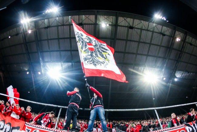 2.500 Fans werden die österreichische Nationalmannschaft in Irland unterstützen.