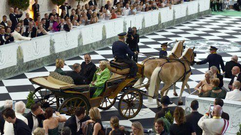 2.000 Gäste feierten ganz in Grün auf der großen Fete Imperiale '17