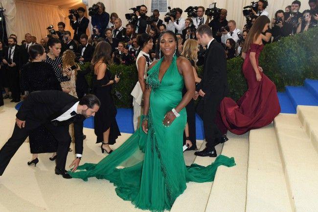"""Serena Williams ließ sich für die """"Vanity Fair"""" ablichten."""