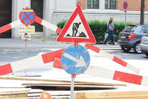 Bauarbeiten stehen in Meidling an