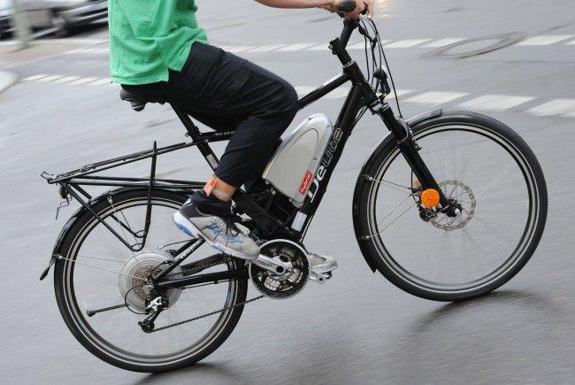 Elektrofahrräder liegen auch in Österreich im Trend