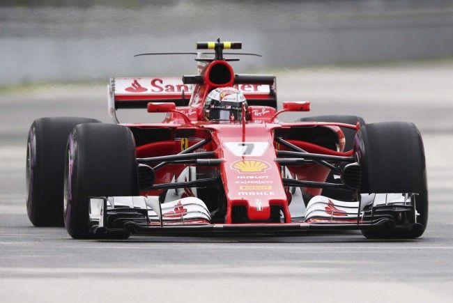Kimi Räikkönen war im zweiten freien Training in Kanada am schnellsten.