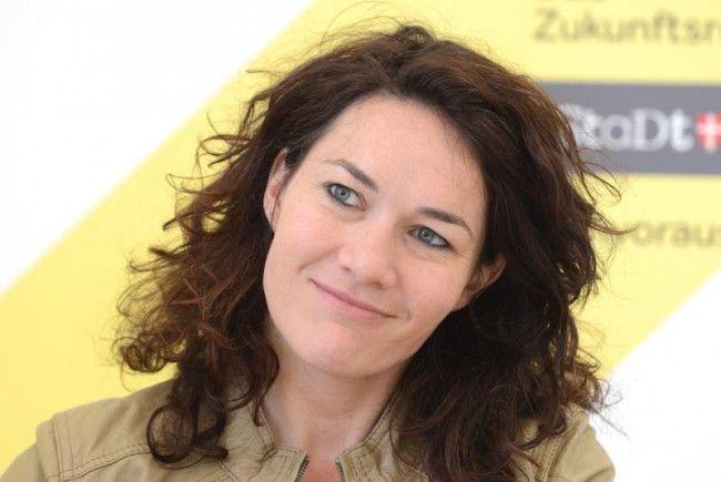 Die neue grüne Bundessprecherin Ingrid Felipe.