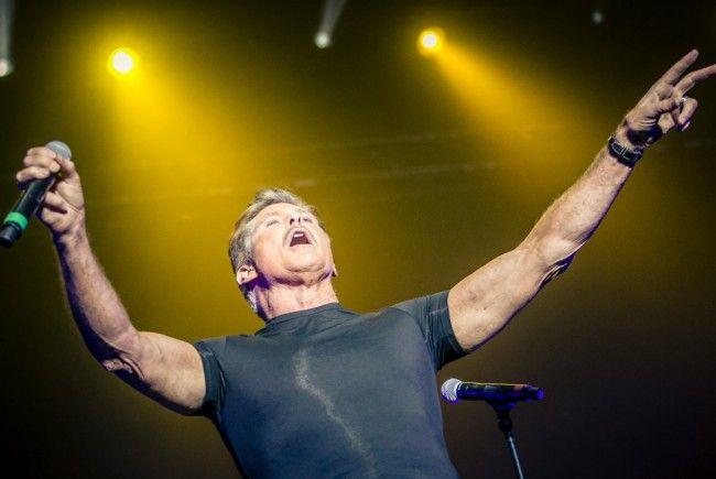 Konnte sein Publikum am Nova Rock begeistern: David Hasselhoff