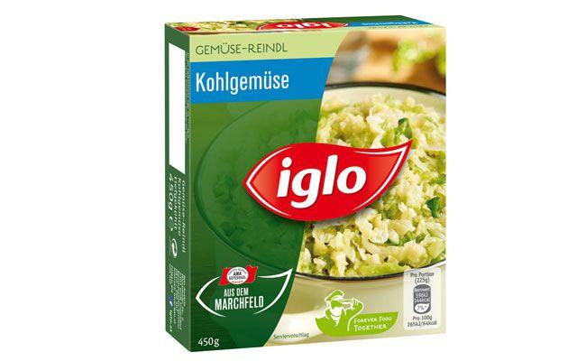 Iglo Austria ruft ein Produkt in begrenzter Anzahl zurück