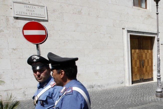 Ein gesuchter mutmaßlicher Betrüger konnte in Rom verhaftet werden