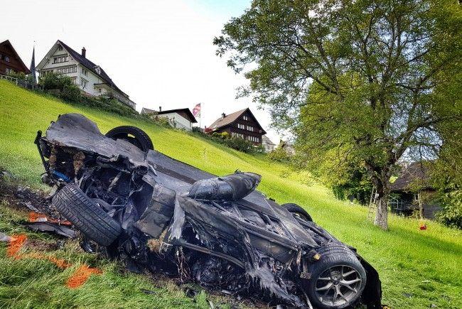 """Bei einem Bergrennen in der Schweiz verunfallte der """"Top-Gear""""-Star."""