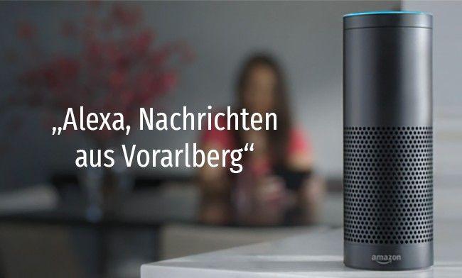 """""""Alexa, aktuelle Nachrichten aus Vorarlberg?"""" – Neuer Echo-Service von VOL.AT"""