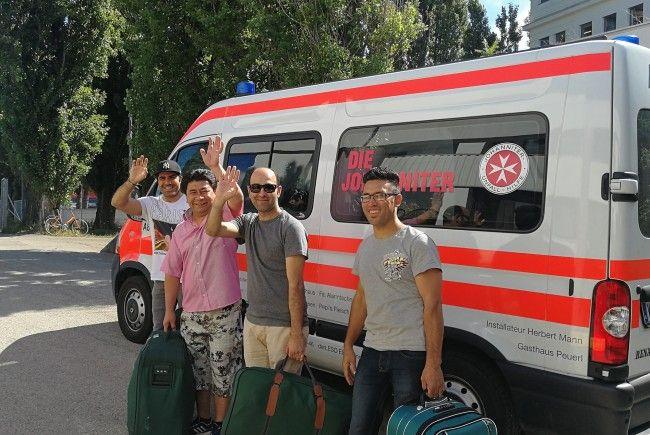 Das Flüchtlingsquartier in Liesing schließt seine Pforten