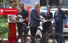 Wiener Fahrradpolizei bekam weitere Defis