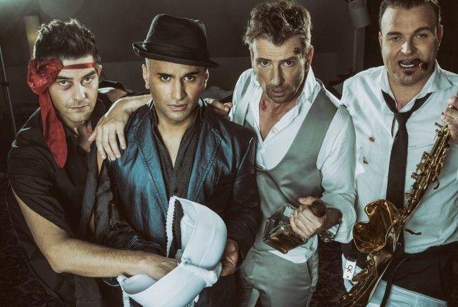 "Das Entertainer-Quartett ""The Rats Are Back"" tritt am 22. Juni in Mödling auf."