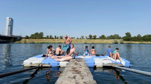 """Schwimmen in der Donau: DIF-Besucher gingen """"verloren"""""""