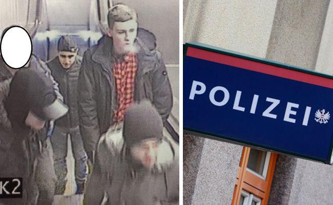 Die Wiener Polizei fahndet nach diesen Verdächtigen.