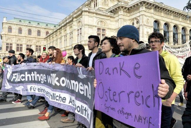 Gerade in Wien scheint die Akzeptanz von Flüchtlingen gestiegen zu sein.