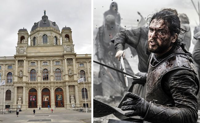 """""""Game of Thrones""""-Momente werden in Wien auf einem Gemälde verewigt."""