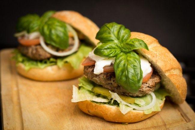 Köstliche Burger aller Art warten auf der ehemaligen Copa Cagrana
